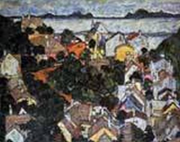 Summer Landscape Krumau 2 1917